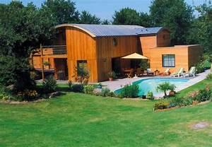 Maison Modulaire Bois : maison modulaire en bois 2 3 maison bois modulaire ~ Melissatoandfro.com Idées de Décoration
