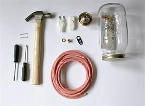 Comment Fabriquer Une Lampe : 1001 id es de bricolage recyclage d 39 une lampe bocal ~ Medecine-chirurgie-esthetiques.com Avis de Voitures