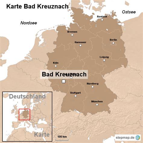 karte bad kreuznach von ortslagekarte landkarte fuer