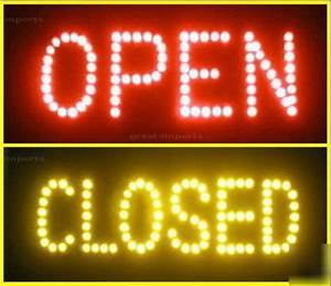 Image Gallery neon open closed signs