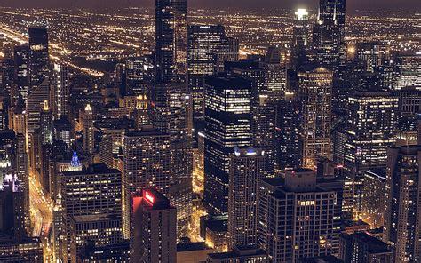 ml city view night dark papersco
