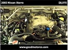 2002 Nissan Xterra Used Cars Wyoming MI YouTube