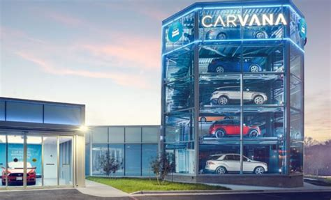 Carvana Adds Another Car Vending Machine To Texas