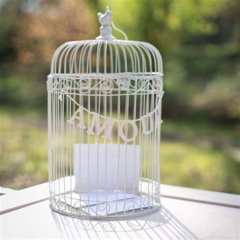 cage 224 oiseau amour pastel wedding mariage