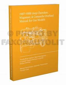 1987 1988 Jeep Cherokee Wagoneer Comanche Overhaul Manual