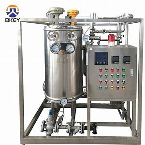Uht Sterilization Machine Automatic Manual Pasteurizer