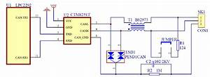 The Canopen Module Hardware Circuit