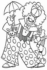 Clown Coloring Pages Pennywise Carnival Circus Colouring Animal Food Playing Popcorn Happy Colorings Getcolorings Printable Getdrawings Print Colorir Para Desenhos sketch template
