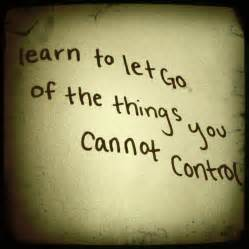 Let Go of Control Quotes