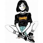 Aesthetic Lofi Anime Drawing Korean Sad Drawings