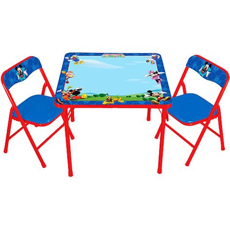 disney mickey mouse activity table with 3 markers club