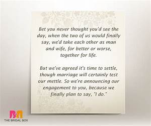 7 well put engagement invitation quotes With wedding invitation thoughts quotes