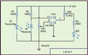 How To Simulate An Ir Sensor Using Proteus Software