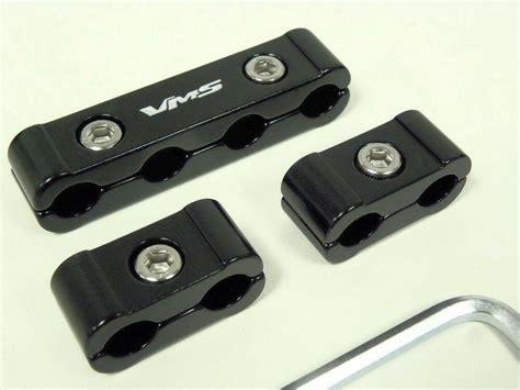 billet wire separators for msd 8 5 spark black ebay