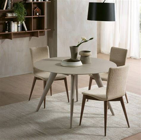 Coffee tables that transform into dining tables. Elegance | Round extendable dining table, Resource furniture, Contemporary dining furniture