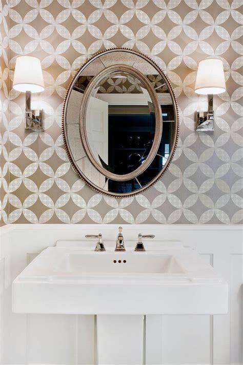 Bathroom Mirror Decorating Ideas by Cool Decorative Oval Mirrors Bathroom Decorating Ideas