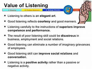 How To Listen Carefully And Empathically Training
