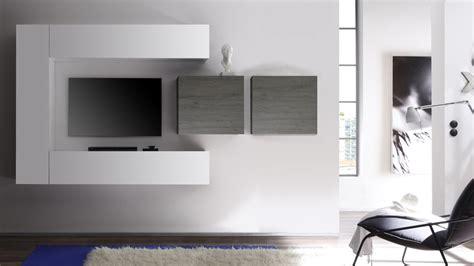 meuble tv gris pas cher digpres