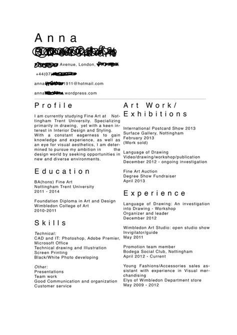 Artistic Resume by 25 Best Ntu Creative Cv Gallery Images On