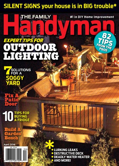 family handyman  diy projects discountmags