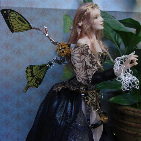 Steampunk Fairy Doll Close Elvenelysium Deviantart