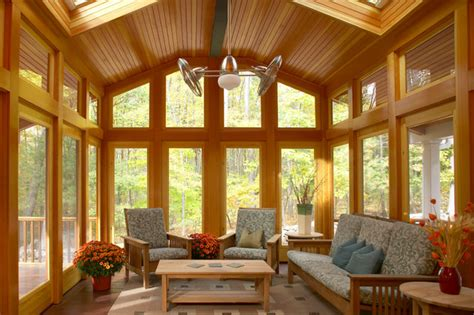 ceiling fans for sunrooms acton 3 season porch craftsman porch boston by out