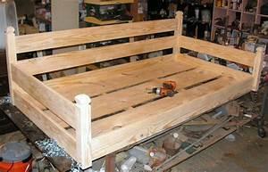 Custom ordered swing bed - by Built2Last @ LumberJocks com