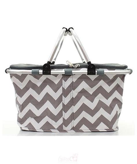 personalized picnic basket collapsible insulated cooler