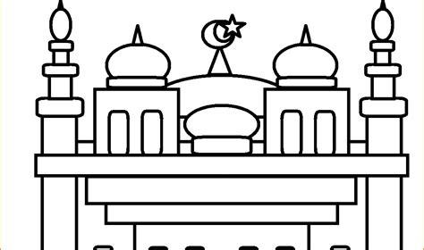 mewarnai masjid nabawi