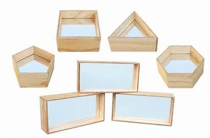 Mirror Blocks Shapes Mirrors Equipment