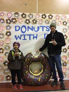 Yearly Home Maintenance Rose Elementary Hosts 39 Donuts With Dad 39 Event For 43