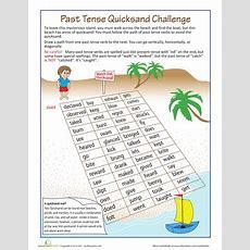 Past Tense Quicksand  Worksheets, Language And English