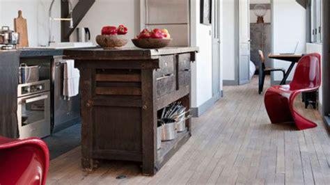 cuisine en famille cuisine style atelier industriel cuisine style atelier
