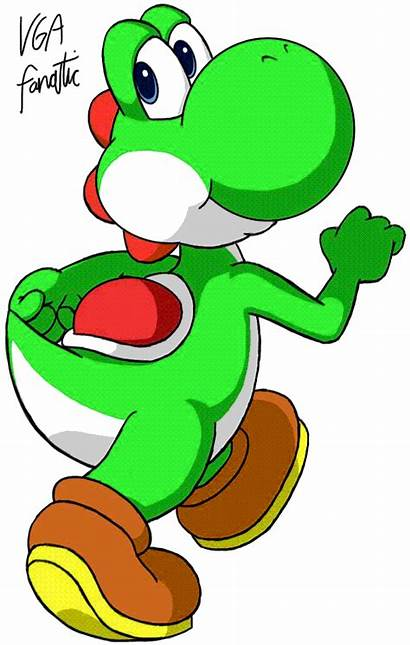 Yoshi Colors Deviantart Vgafanatic Mario Nintendo Sfm
