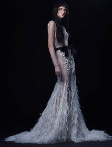 vera wang fall 2016 wedding dress collection 2 dipped in With vera wang wedding dresses 2016