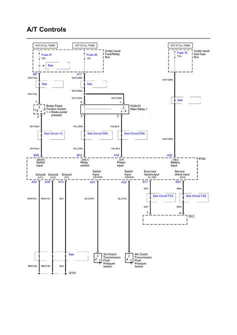 2000 Acura Tl Electric Schematic by Repair Guides Wiring Diagrams Wiring Diagrams 1 Of