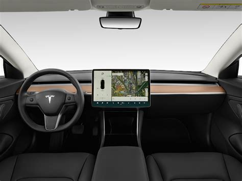 Download Tesla Car Model 3 Interior PNG