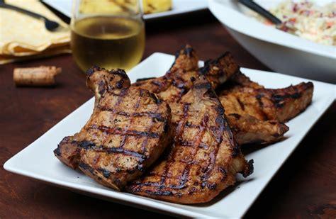 grilled pork chops pork chop recipes quick and easy grilled pork chops