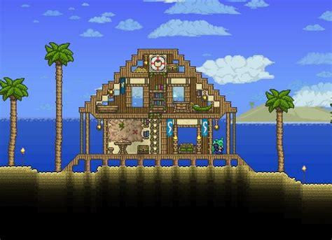 ultimate terraria beach house terraria house design terraria house ideas terrarium