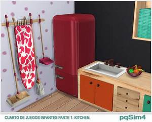 Kitchen, Toy, Room, For, Kids, By, Mary, Jim, U00e9nez, At, Pqsims4