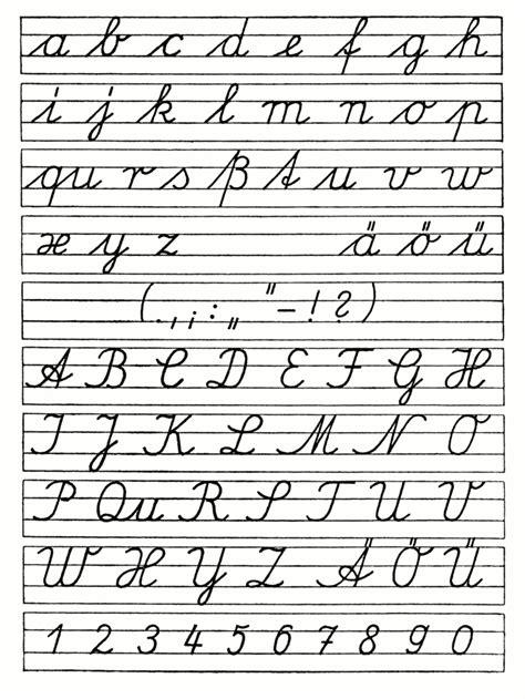 ausgangsschrift der ddr  ausgangsschrift wikipedia