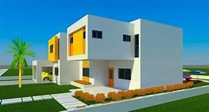Plan De Maison Duplex En Afrique  U2013 Gamboahinestrosa
