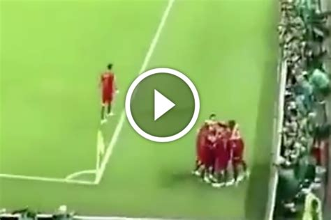 video     portugal ace celebrated ronaldo goal