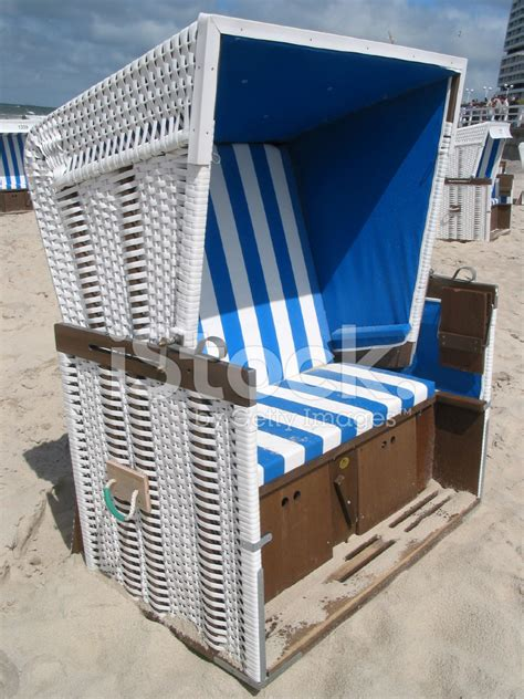 chaise allemande typique allemand chaise de plage strandkorb photos