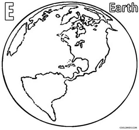 Coloring Earth by Printable Earth Coloring Pages For Cool2bkids