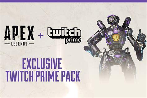 apex legends twitch prime packs apex  skin legendaire
