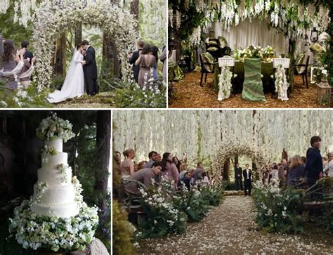 Twilight Wedding Theme  Fantastical Wedding Stylings
