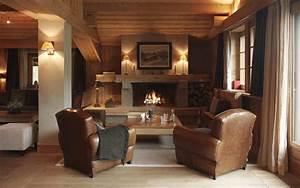 deco interieur style chalet idees pour atmosphere chaleureuse With style de deco interieur