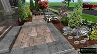Patio Designs New Nature Landscaping - Front Patio Design - YouTube