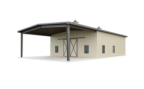 Steel Pole Barn Kits by 40x75 Prefab Barn Kits Prices General Steel Shop